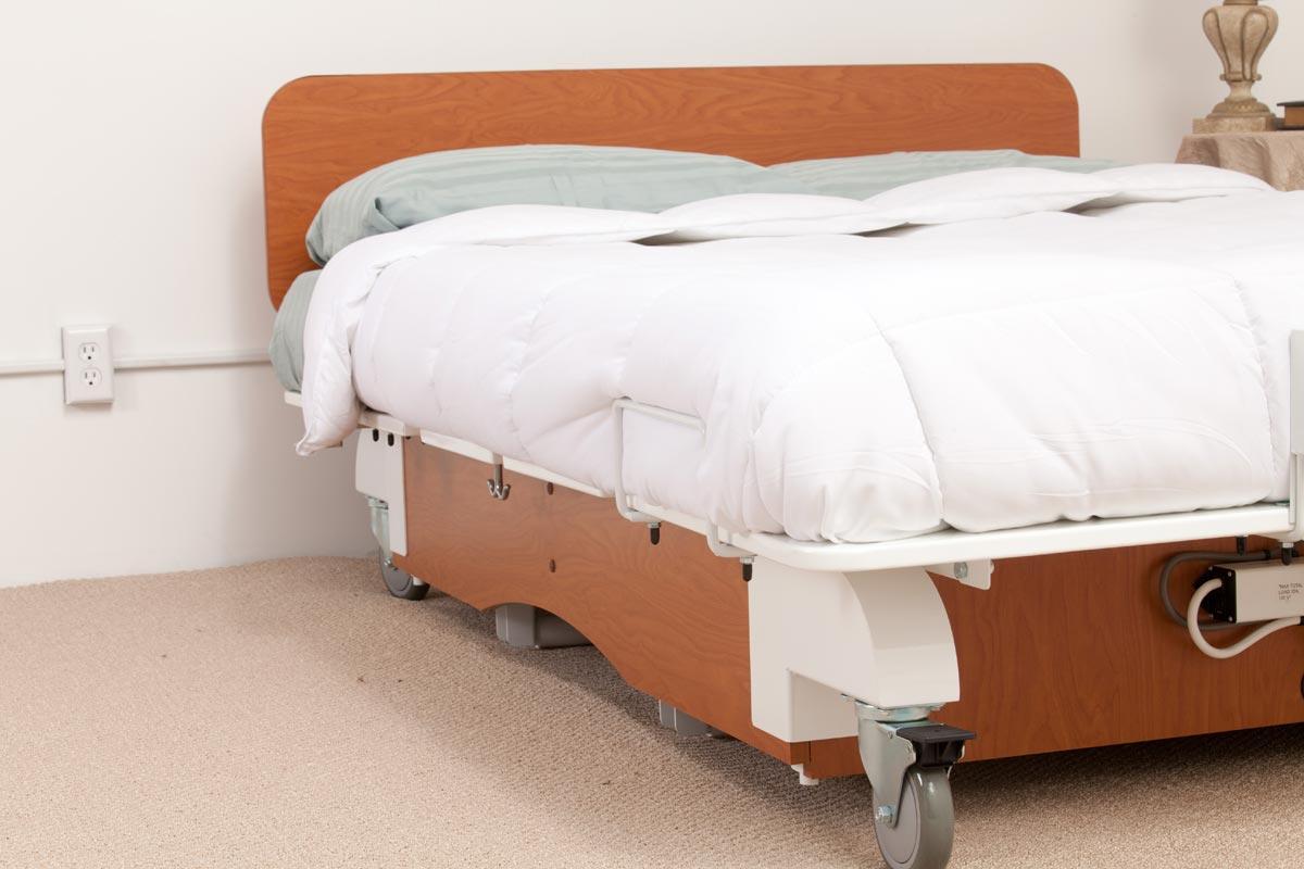 Models sleep center adjustable beds for Foot of bed furniture