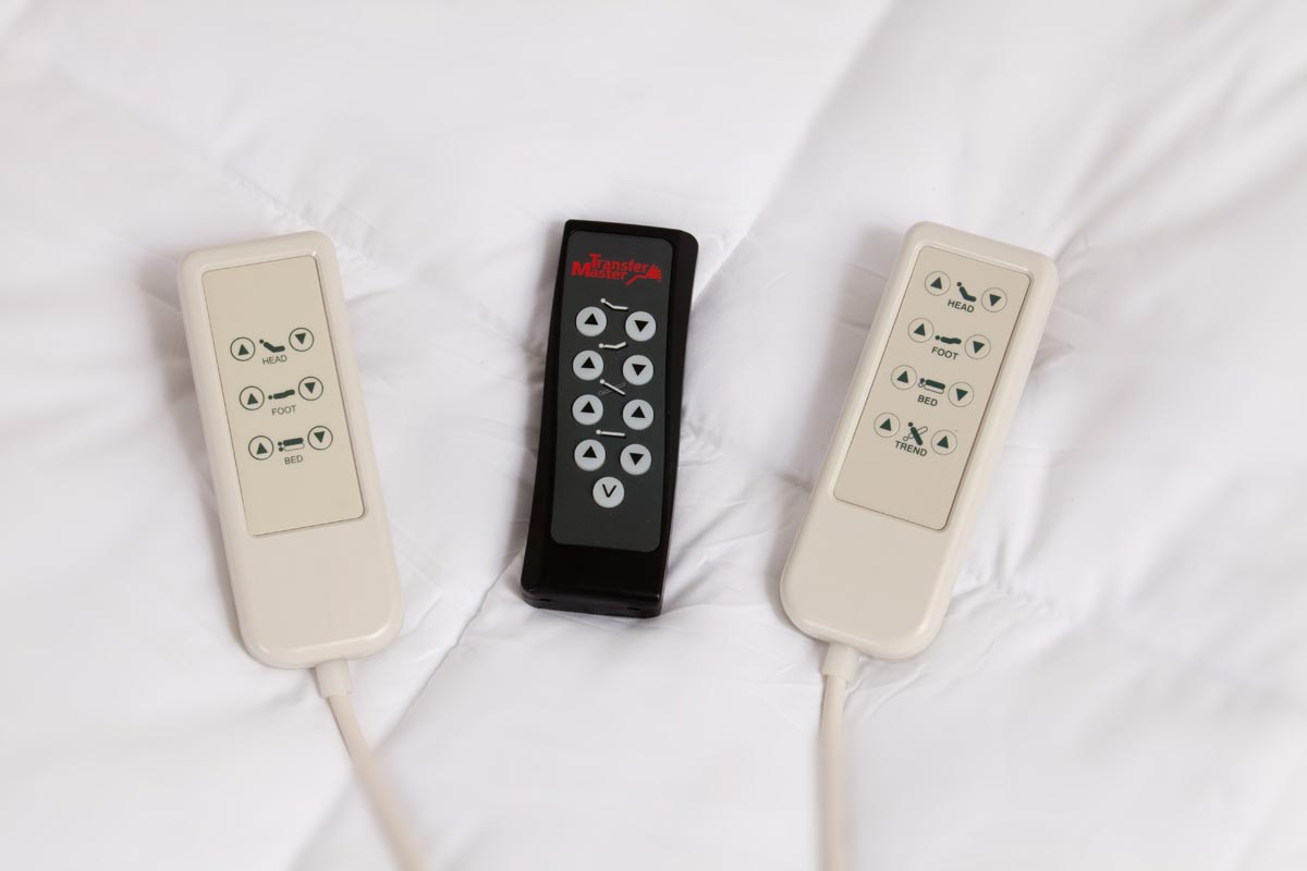 Easy to Use Remotes- Wireless only for 5 Function
